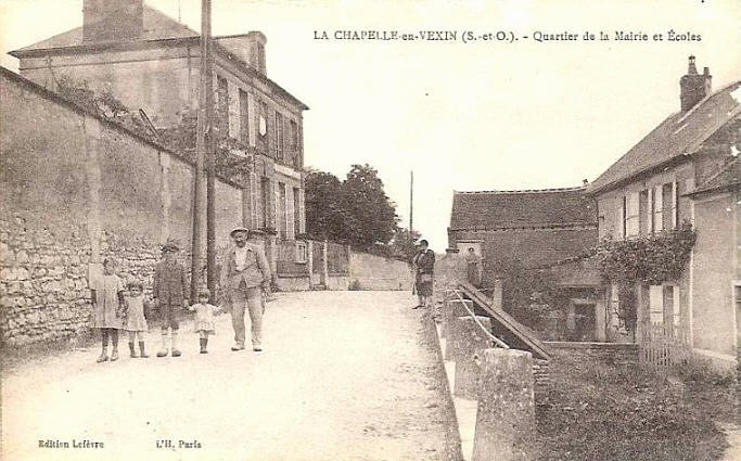 CPA-Chapelle-Vexin-01
